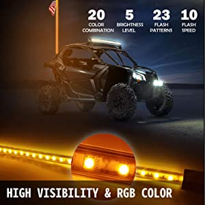 High Visibility & RGB Color