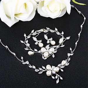 jewelry necklace set for mom, women, prom