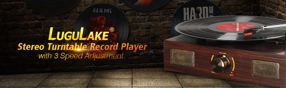 banner for turntable