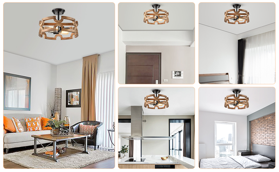 farmhouse lighting will be the focal point in any space like dining room kitchen living room bedroom