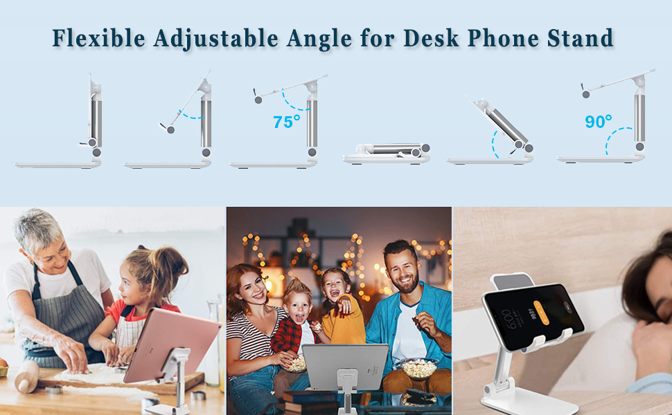 adjustable cell phone stand,foldable cell phone stand mobile stand iphone dock stand for desk