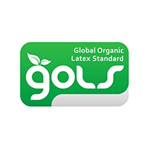 GOLS GOTS USDA Certified organic latex mattress topper bed pad foam memory healthy certification