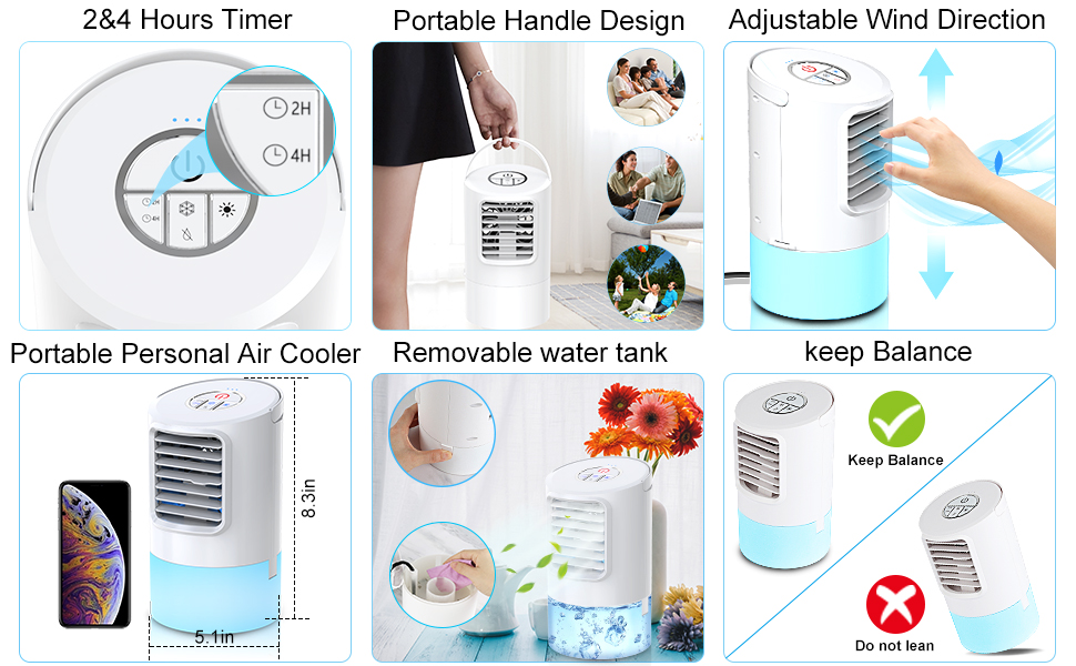 Features of air cooler