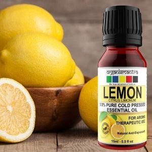 merits of lemon essential oils