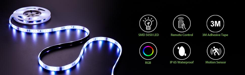 flexible led strip light rgb