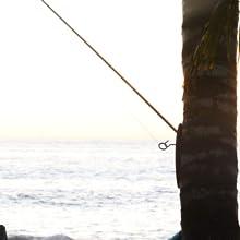 Tiki Toss at the Beach