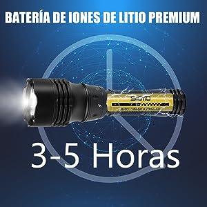 linterna de buceo recargable  linterna de buceo video  linterna de buceo para casco  linterna de