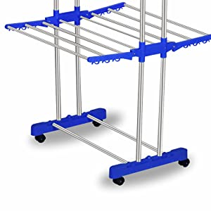 cloth drying rack, drying stand, 3 layer drying rack for cloths