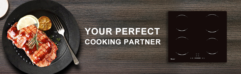 Induction cooktop, your perfect cooking partner