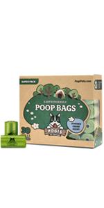 Pogi's poop bags sacs chiefs