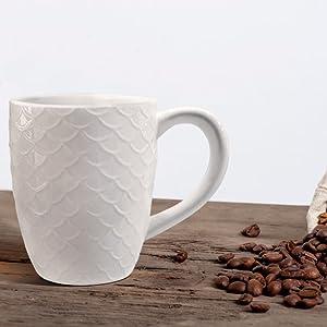 white mug set