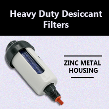 Heavy Duty Desiccant Filters for Air Compressors