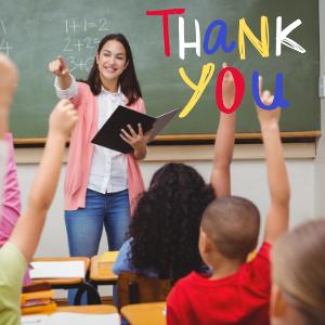 teacher teachers school thank thanks you christmas appreciation kid kids pre-k elementart teach love