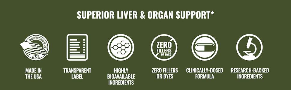 Superior Liver & Organd Support*