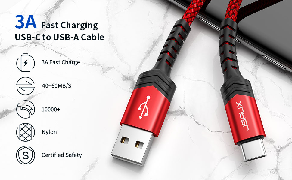 usb c cable fast charging