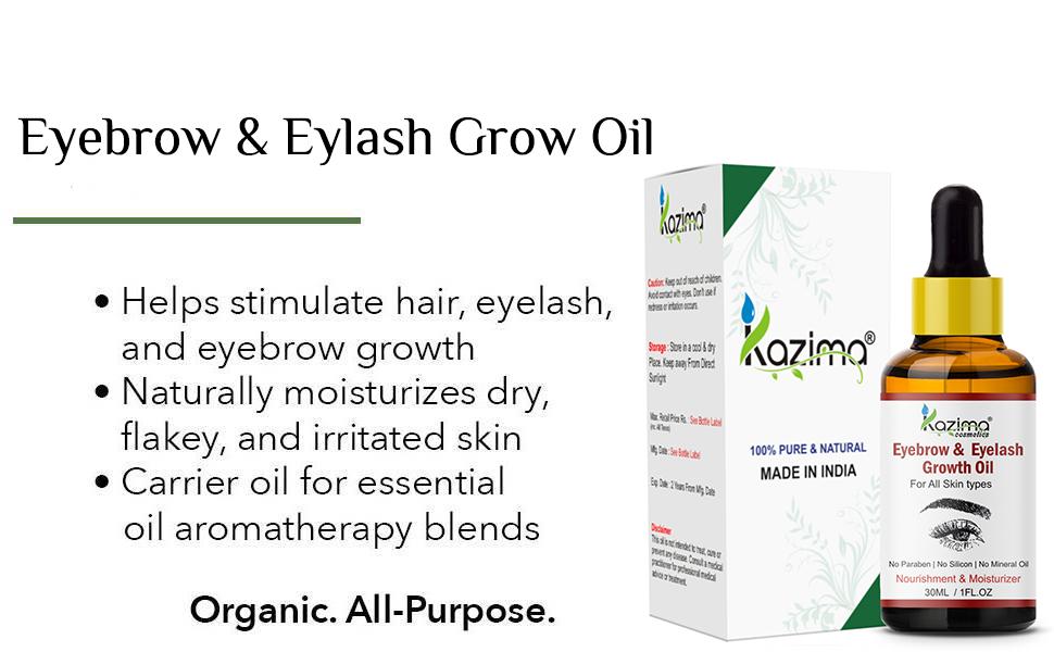 eyebrow grow oil