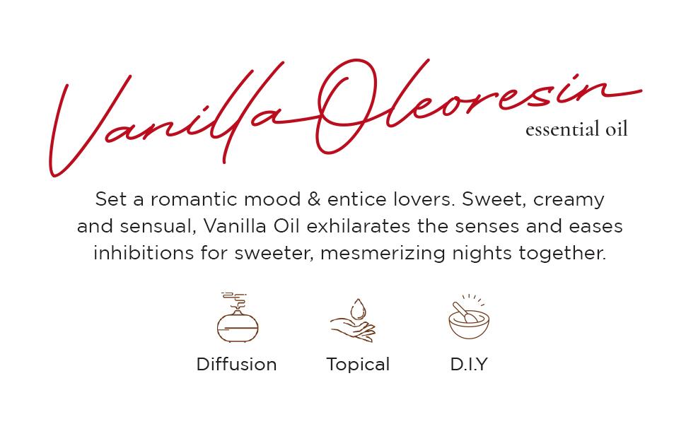 vanilla essential oil description