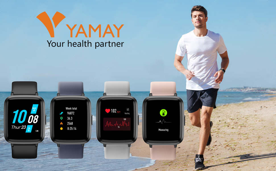 Smart Watch with Blood Monitor