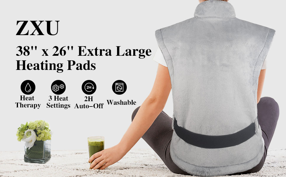 back heating pad for back pain