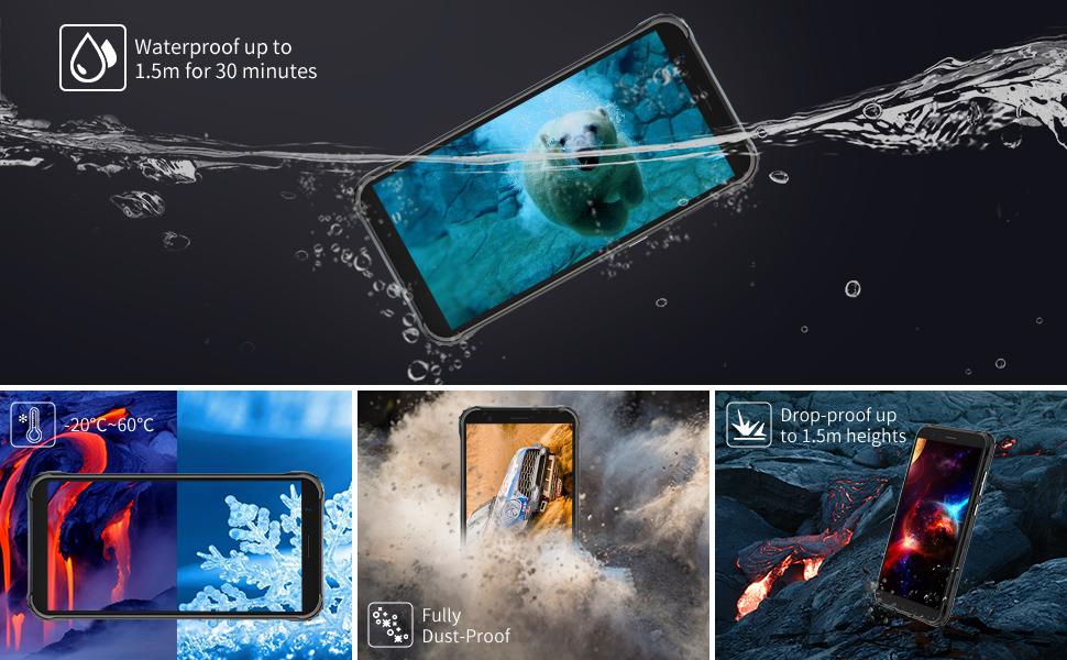 blackview ip 68 billiges outdoor smartphone