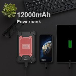 12000 power bank jump starter
