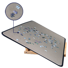 puzzle board with cover