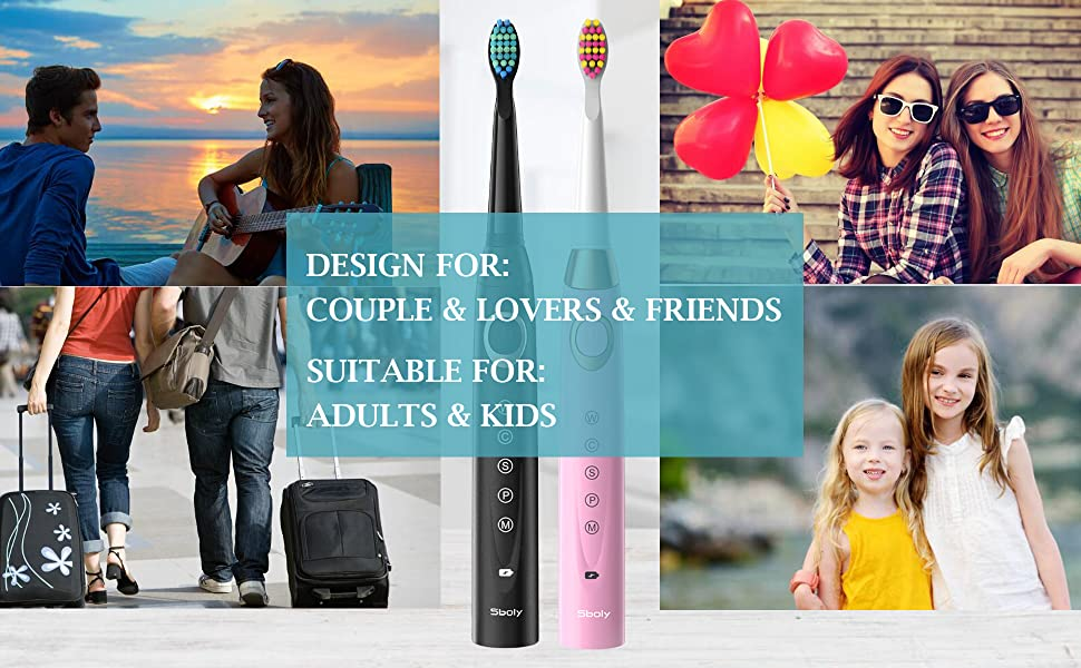 electric toothbrushes for adults and kids