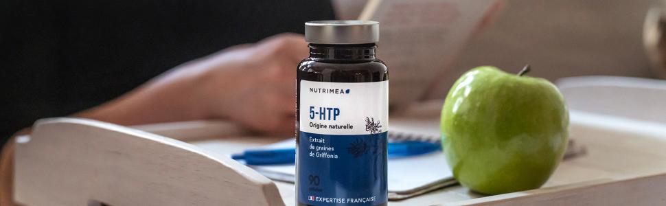 5HTP Triptofano, 300mg por día 5 HTP, Extracto Puro Semilla de ...