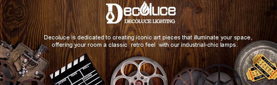Decoluce vintage lamp