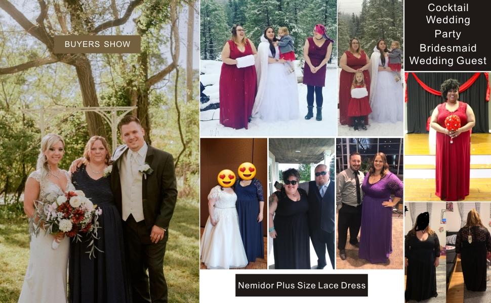 Women's Deep- V Neck Vintage Plus Size Bridesmaid Formal Evening Maxi Dress
