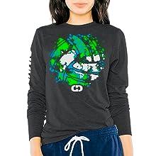 gimmedat volleyball splatter long sleeve shirt player team fan gift