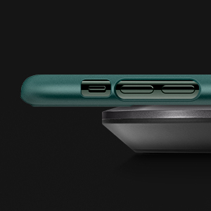 iPhone 11 Pro Thin Fit Midnight Green Case