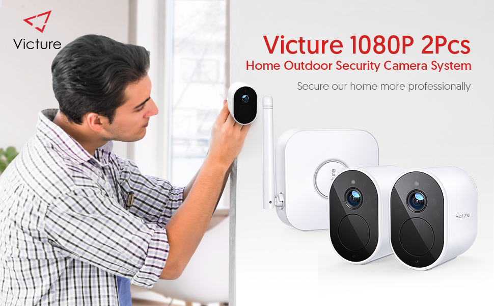 Flashandfocus.com e21a481e-0c3e-4cc5-810d-8d975de5de05.__CR0,0,970,600_PT0_SX970_V1___ Victure Wireless Security Camera System,1080P Home Security Camera System, Rechargeable Battery 180-Day Battery Life…