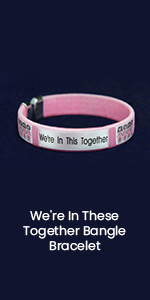 We're In These Together Bangle Bracelet