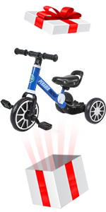3 EN 1 Triciclo para Niños
