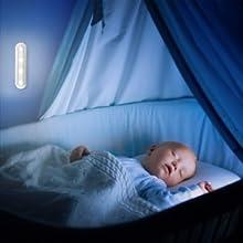 Wireless Night Light Stick Tap Touch Lamp