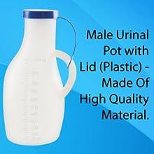 male urine pot