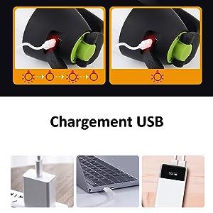 Chargement USB