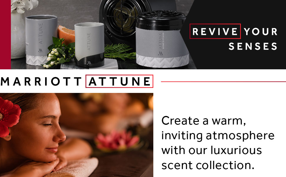 Revive your senses with the Marriott Attune home fragrance collection