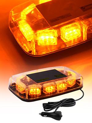 30 led amber strobe lights