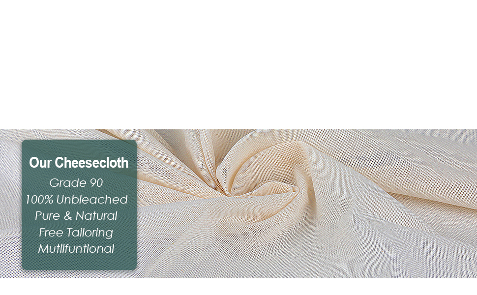 Hemmed Cheesecloth