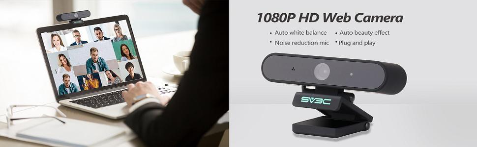 SV3C 1080P Webcam