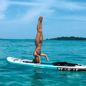 inflatable sup board for sup yoga