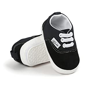 baby walking shoes black