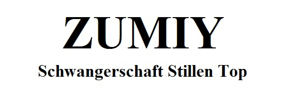 ZUMIY Still-Shirt//Umstandstop Schwangeres Stillen Nursing Schwangerschaft Top Umstandsmode Unterw/äsche