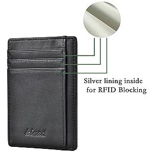 RFID bloacking wallet
