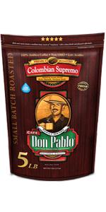 5 LB Don Pablo Colombian Supremo