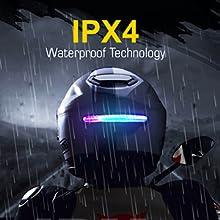 IPX4 Waterproof Technology