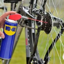 Cleans, Protects and Lubricates the Moving Parts of the Cycle- Gear and Chain Assembly