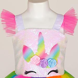 Unicorn Dress Festival Fancy Dress